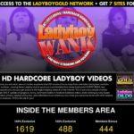 Ladyboy Wank Parola D'ordine