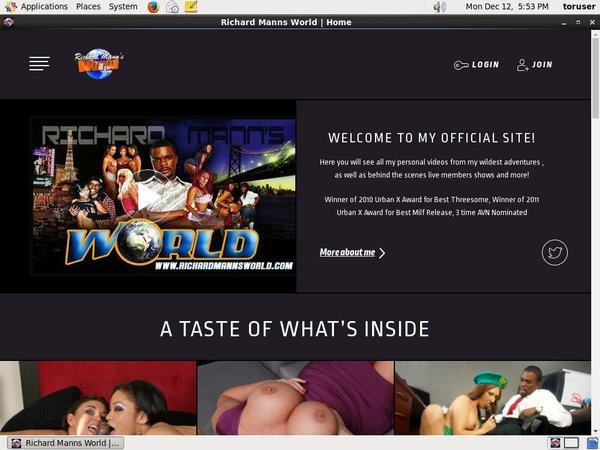 Richardmannsworldlive.com Take Paypal