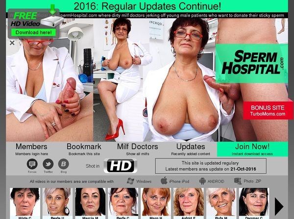 Spermhospital Register Form