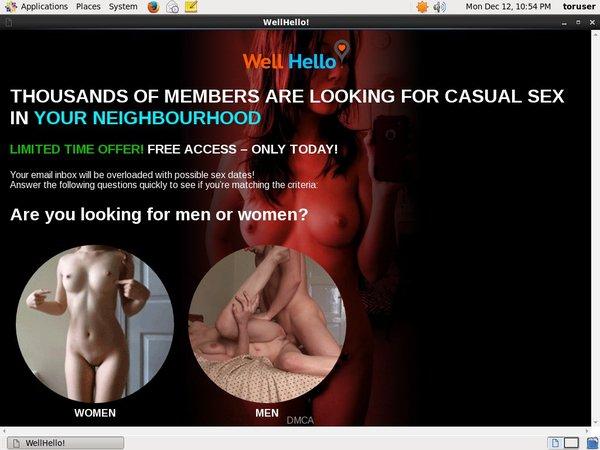 Wellhello.com Renew Subscription