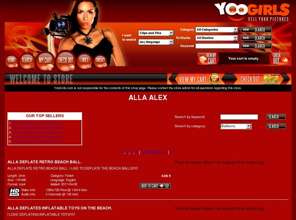 Yoogirls.com Account And Password