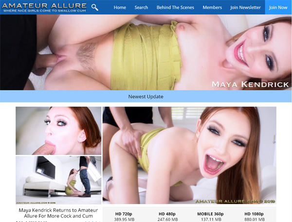 Amateur Allure Get Access