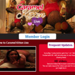 Caramel Kitten Live Discount Monthly