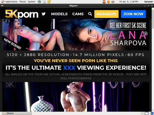 Free Logins For 5kporn.com
