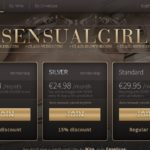 Sensual Girl Discount Checkout