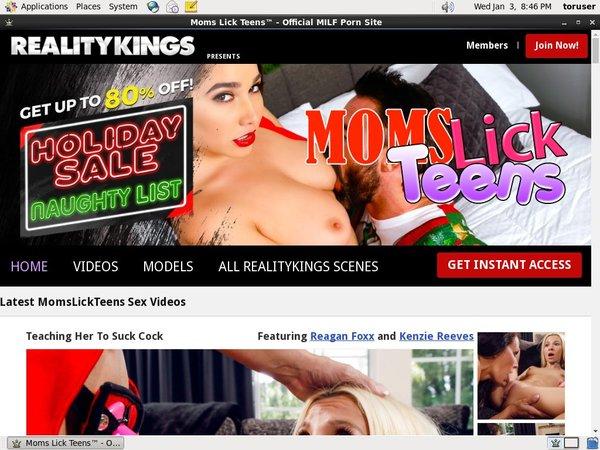 Momslickteens.com Free Trial Pass