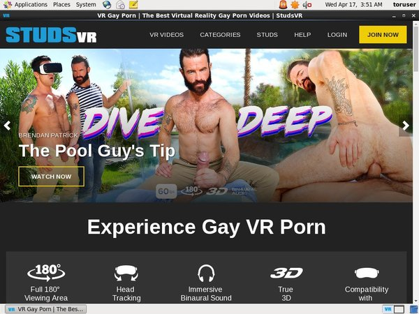 Studs VR Order