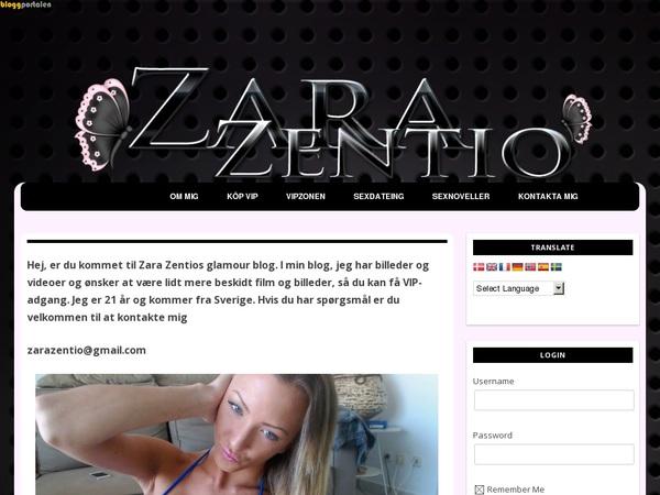 Zara Zentio Sofort Zugang