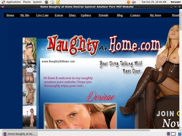 Get Free Naughty At Home Account
