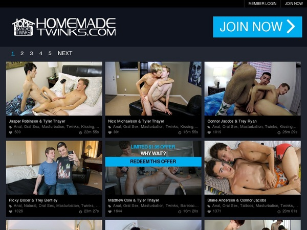 Register For Home Made Twinks