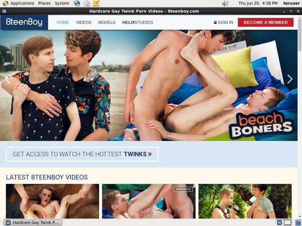 8teenboy.com Acount
