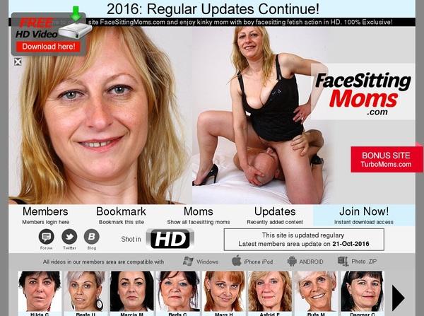 Facesittingmoms.com Premium Pass