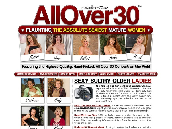 New Allover30 Discount