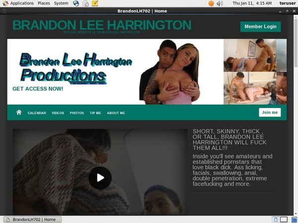 Brandon Lee Harrington Site Rip 2018