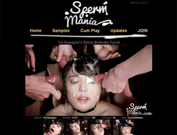 Spermmania.com Members Discount