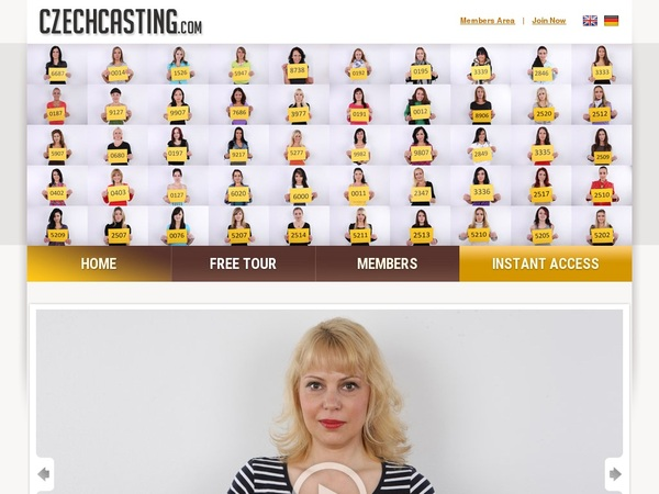 Czech Casting Website Accounts