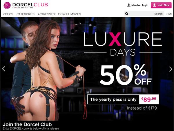 Dorcel Club Trial Pass