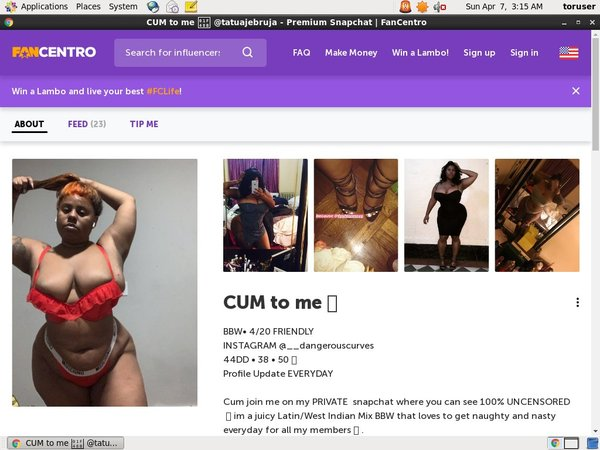 Fancentro.com Pass Free