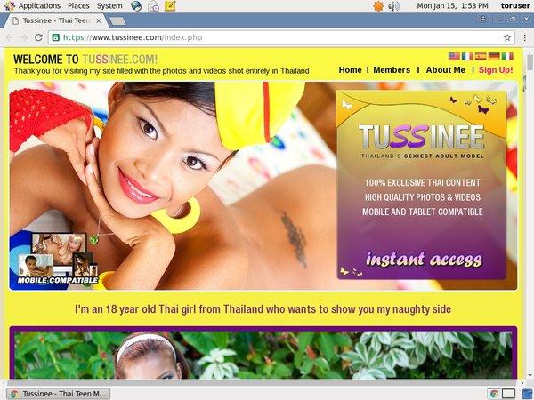 Free Accounts In Tussinee.com