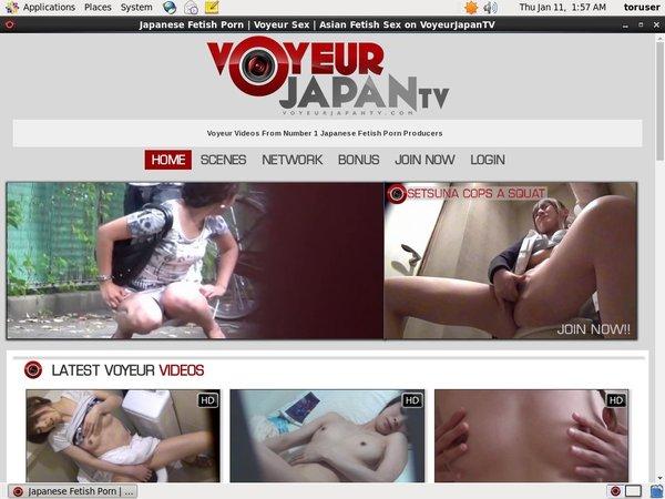 Free Voyeurjapantv.com Premium Accounts