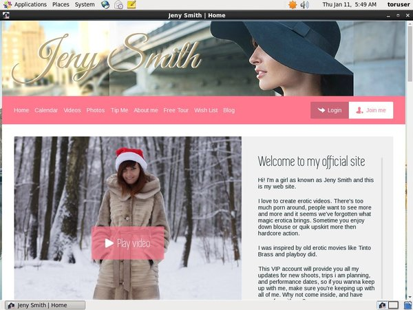 Get A Free Jeny Smith Password