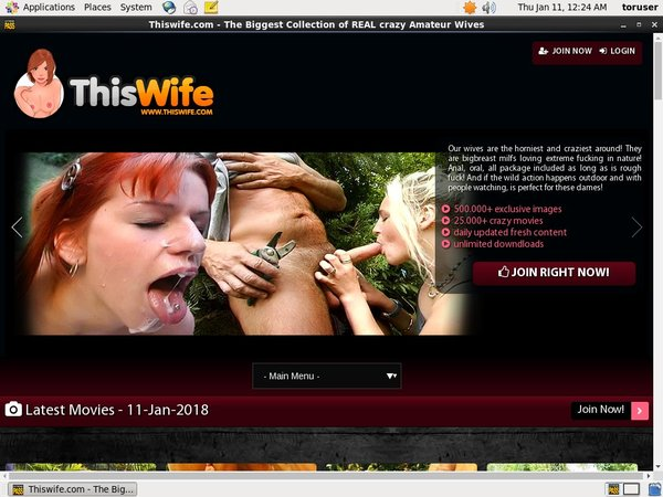 Login Thiswife.com Free