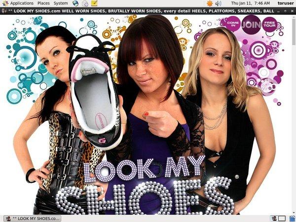 Look My Shoes Parola D'ordine Gratuito