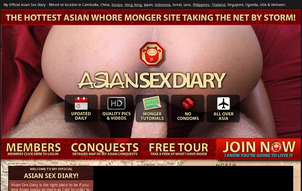 Try Asiansexdiary.com Discount