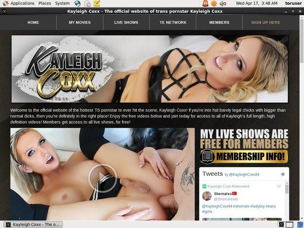 Kayleigh Coxx Pay Site