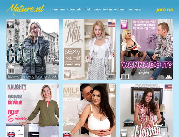 Mature.nl Site