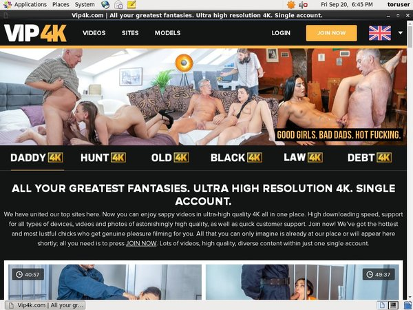 Vip4k.com One Time Discount