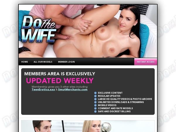 Join Do The Wife For Free