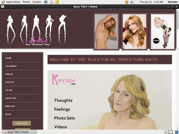 Kacytgirl.com Live
